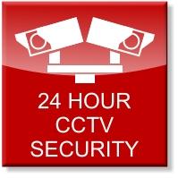 24 hour CCTV security at Store4u Ltd